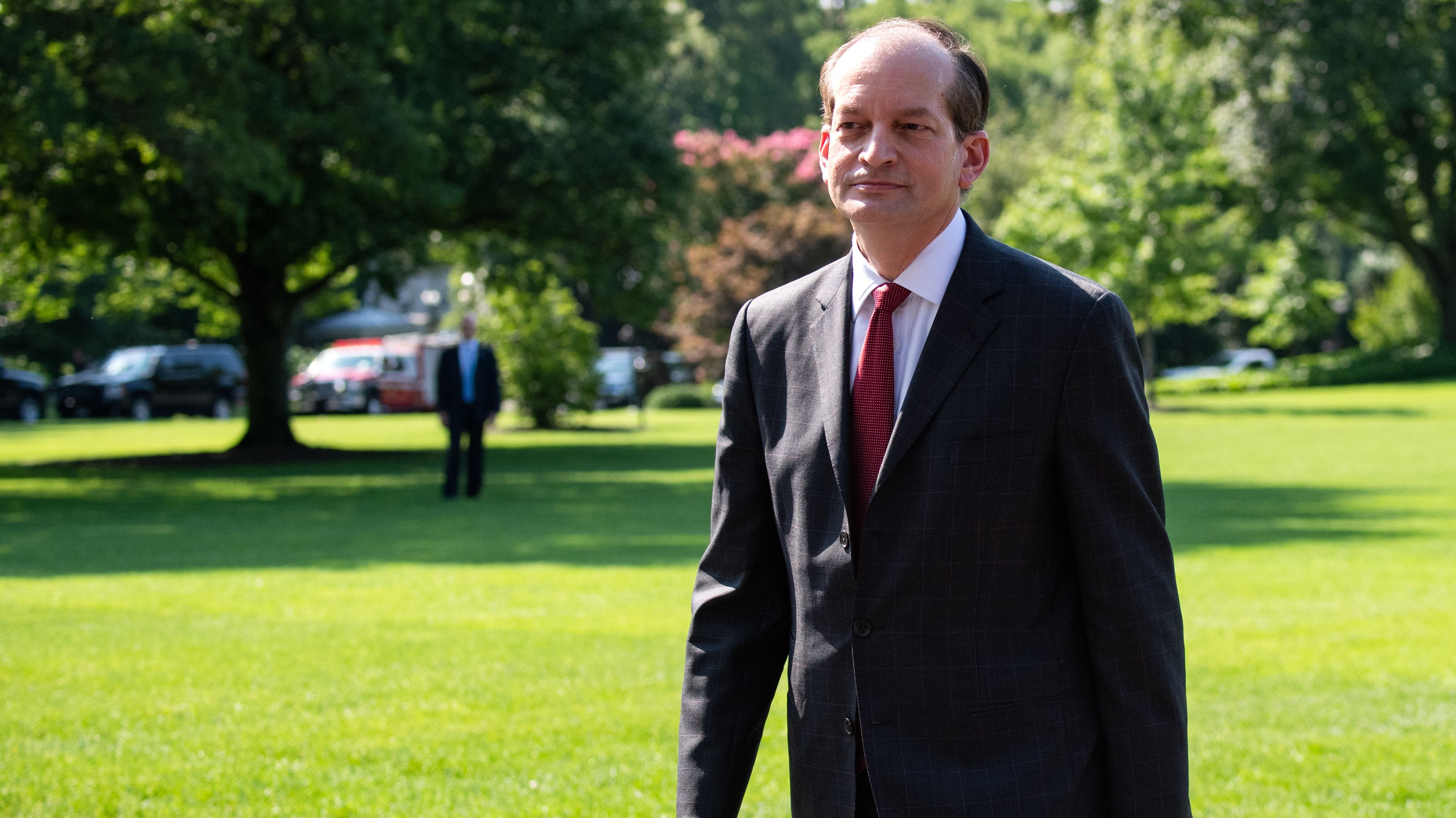 US-Arbeitsminister Alexander Acosta tritt zurück