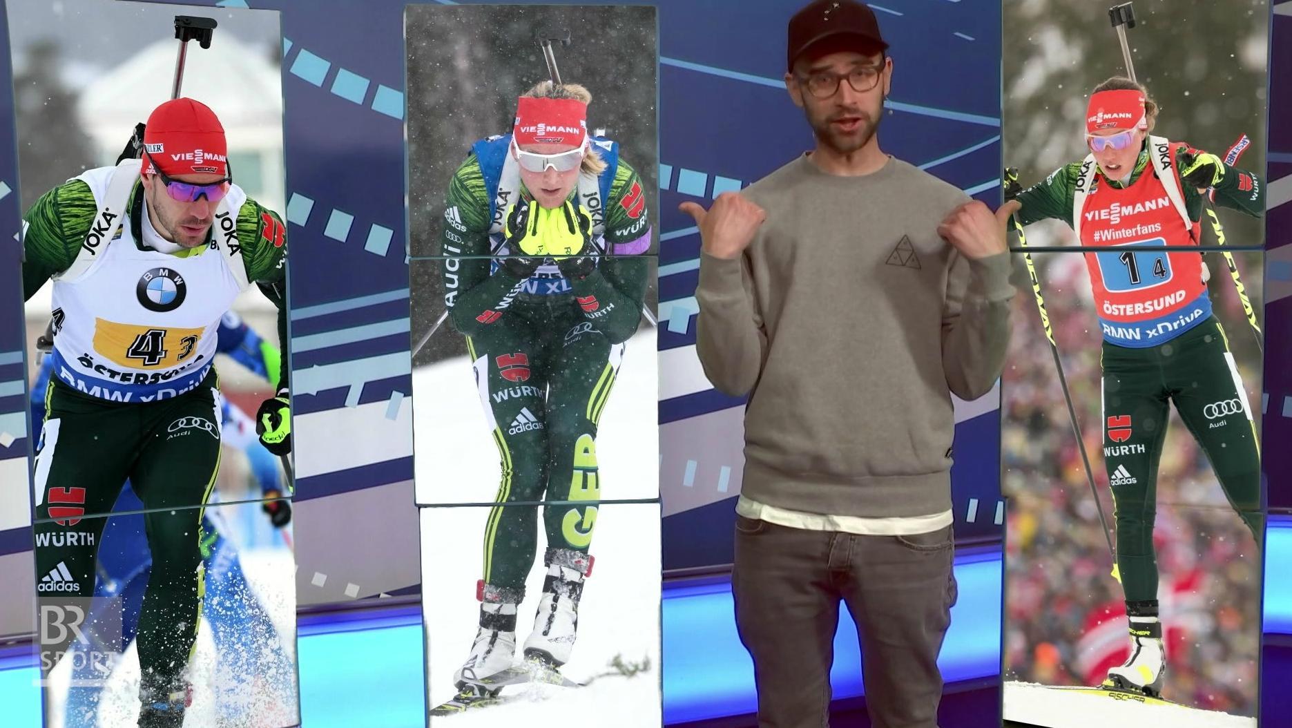 Lukas Schönmüller präsentiert den bayerischen Sport-Wochenrückblick