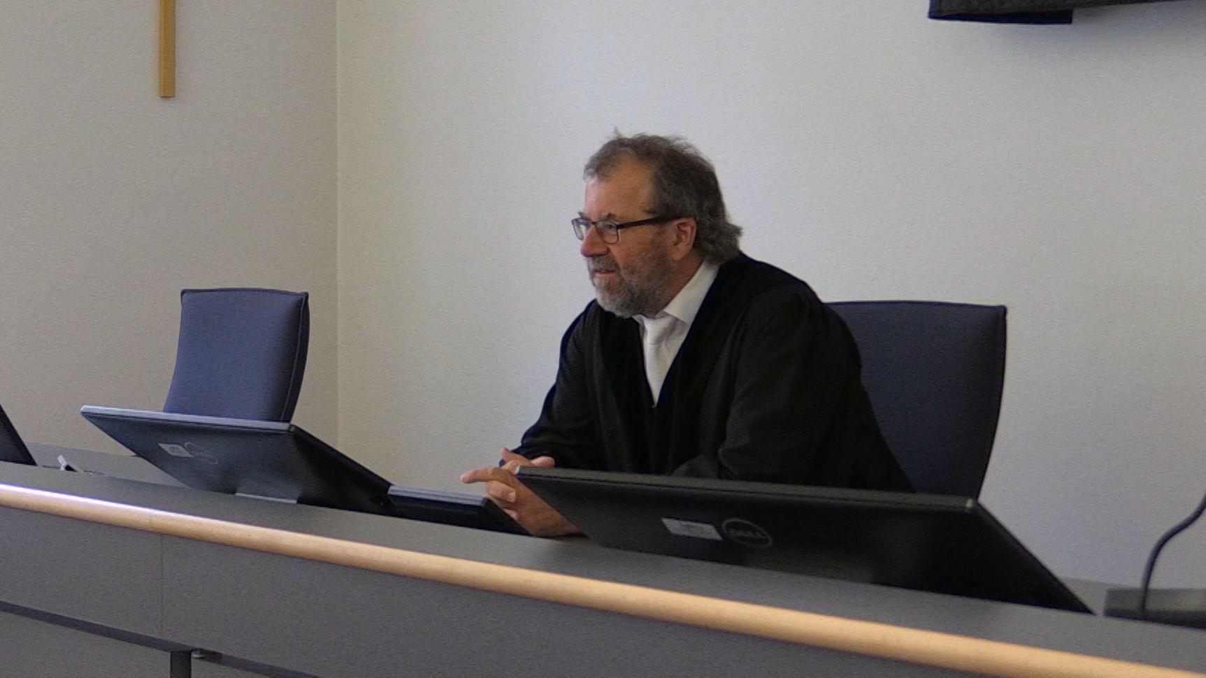 Ein Richter am Landgericht Regensburg