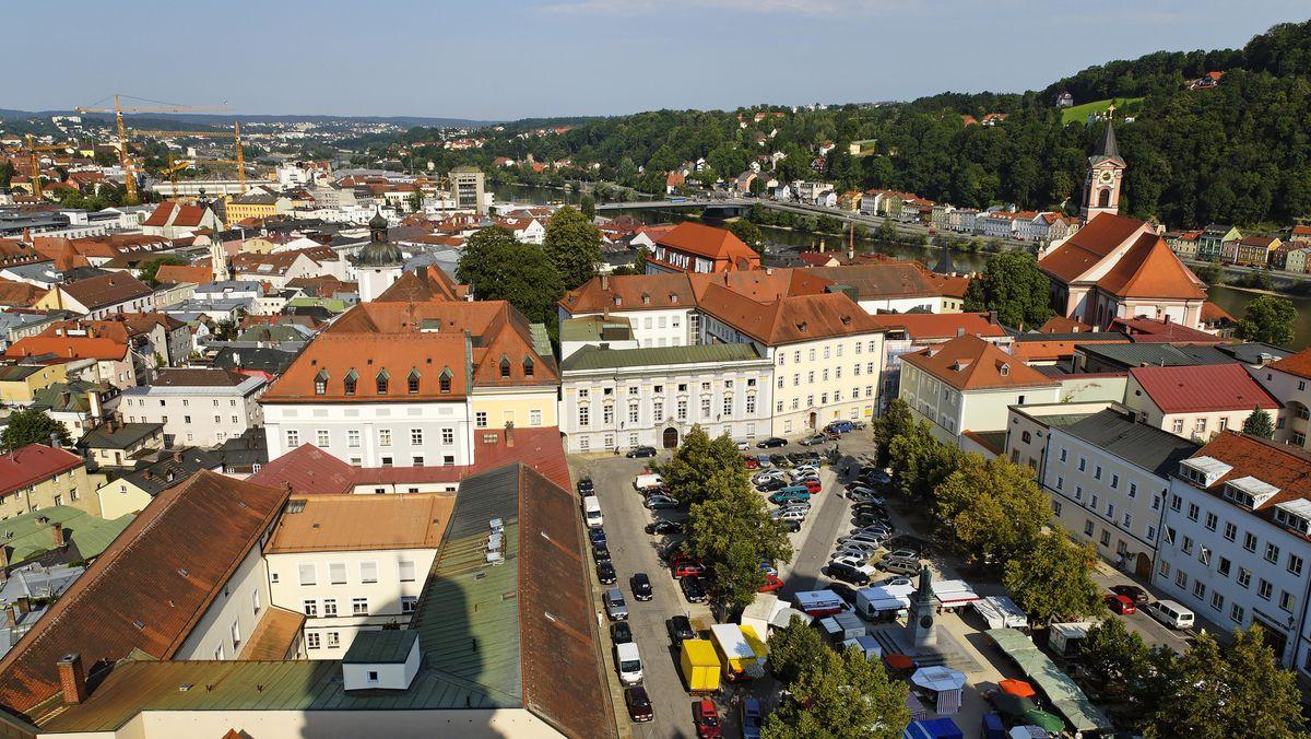Der Passauer Domplatz