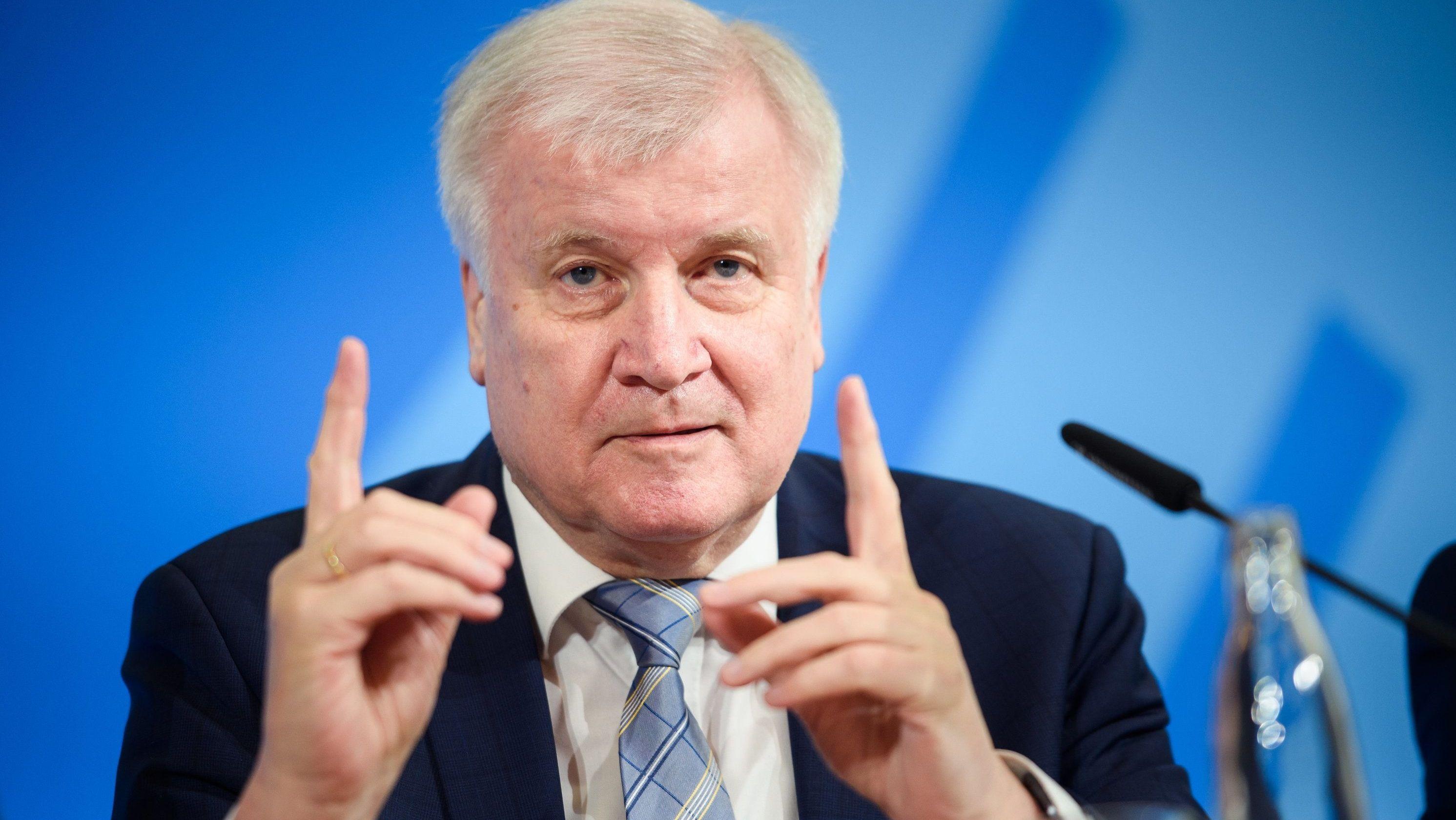 Horst Seehofer (CSU), Bundesminister des Innern, für Bau und Heimat