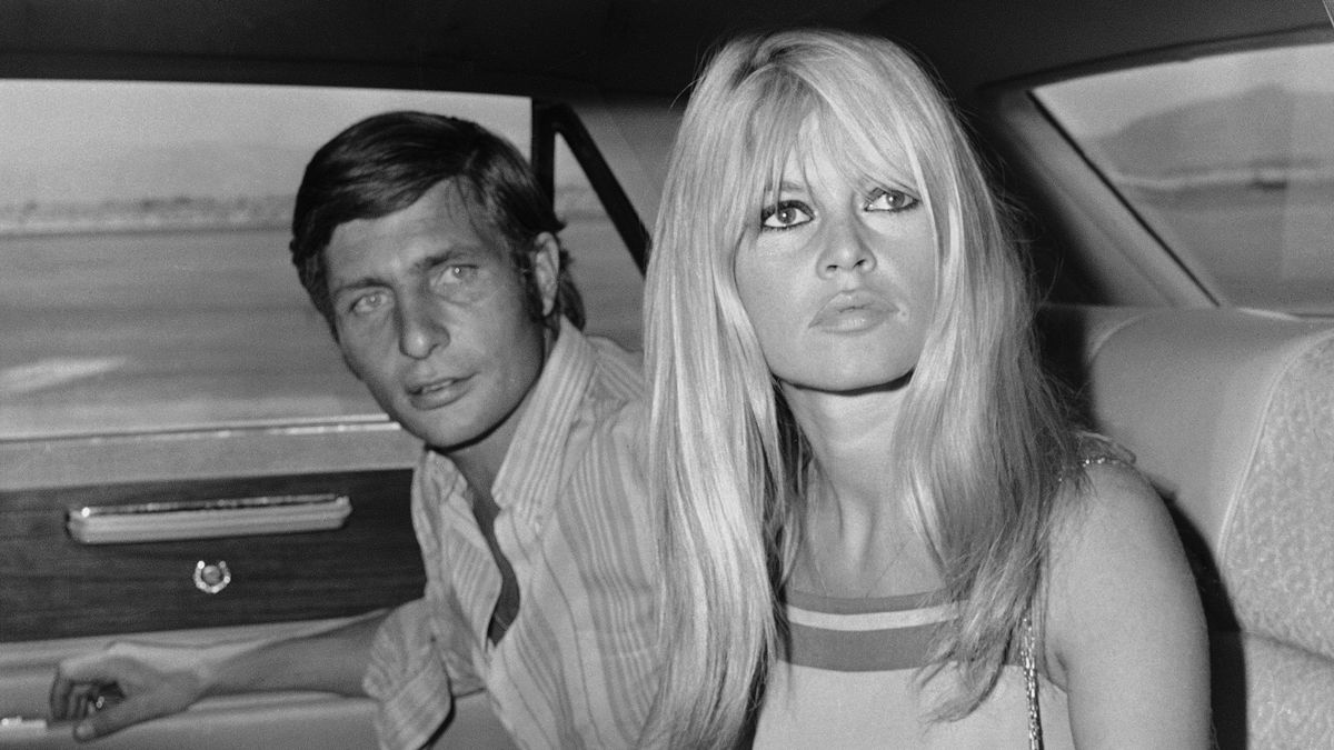 Gunter Sachs und Schauspielerin Brigitte Bardot