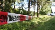 Fundort von Peggys Leiche in Thüringen | Bild:pa/dpa