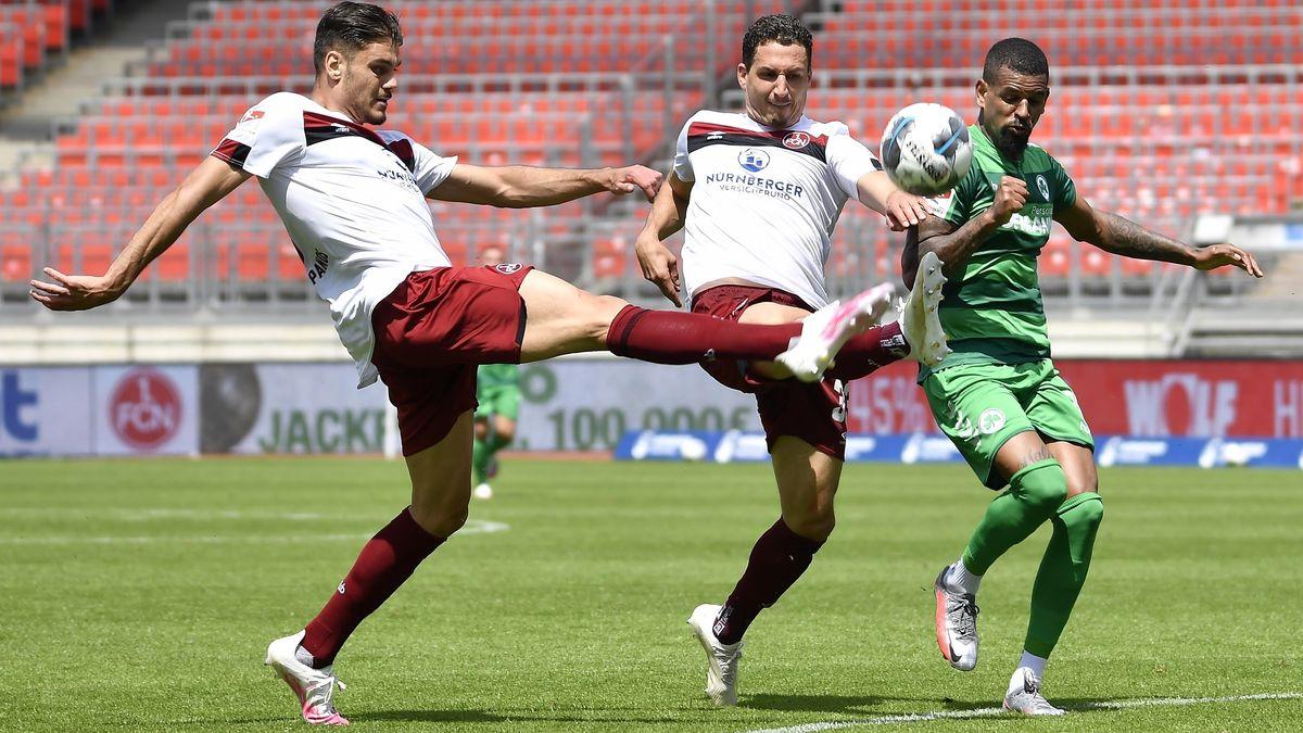2. Fussball - Bundesliga - 1. FC Nürnberg FCN ( Club ) - SpVgg Greuther Fürth ( Kleeblatt )
