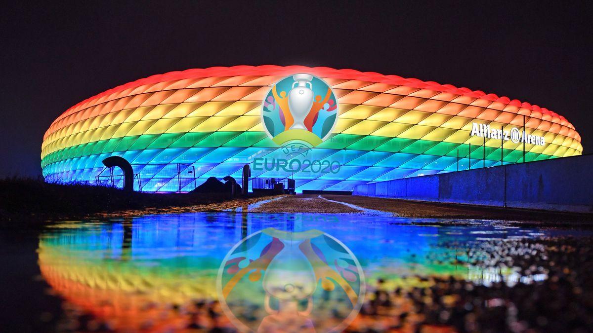 Vor dem EM-Spiel der deutschen Mannschaft gegen Ungarn erhitzt das Nein der UEFA zum Stadion in Regenbogenfarben weiterhin die Gemüter.