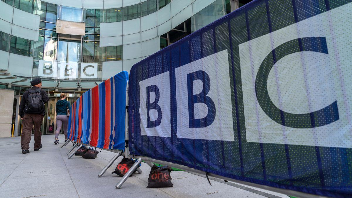 Der Hauptsitz der BBC in London