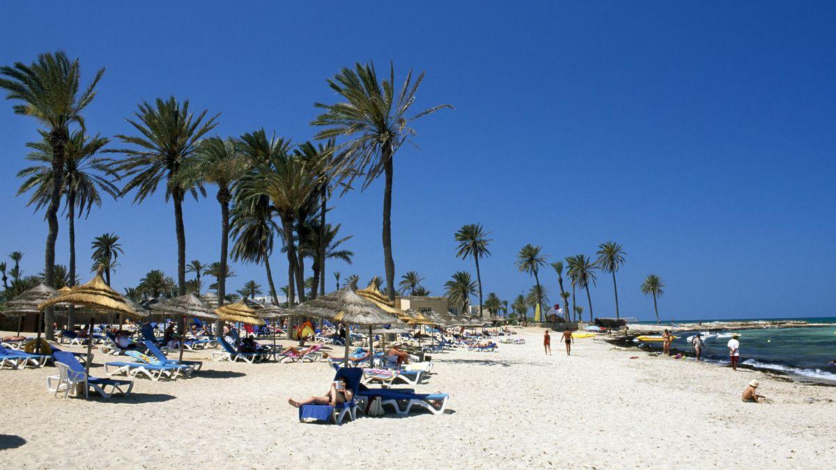Strand bei Djerba, Tunesien