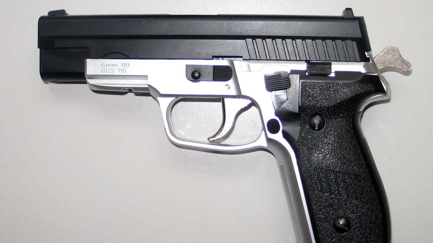 Softair-Pistole (Symbolbild)