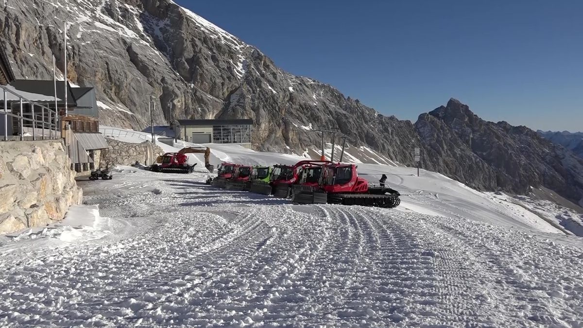Kein Skibetrieb auf der Zugspitze