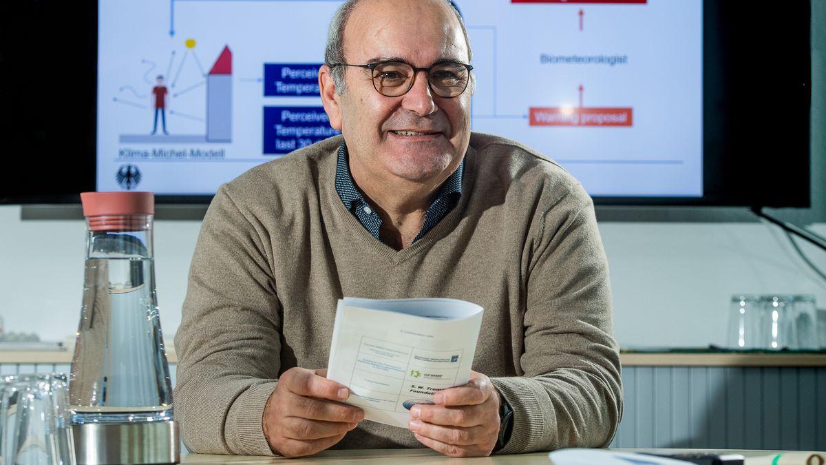 Andreas Matzarakis, Leiter des Zentrums für Medizin-Meteorologie beim Deutschen Wetterdienst
