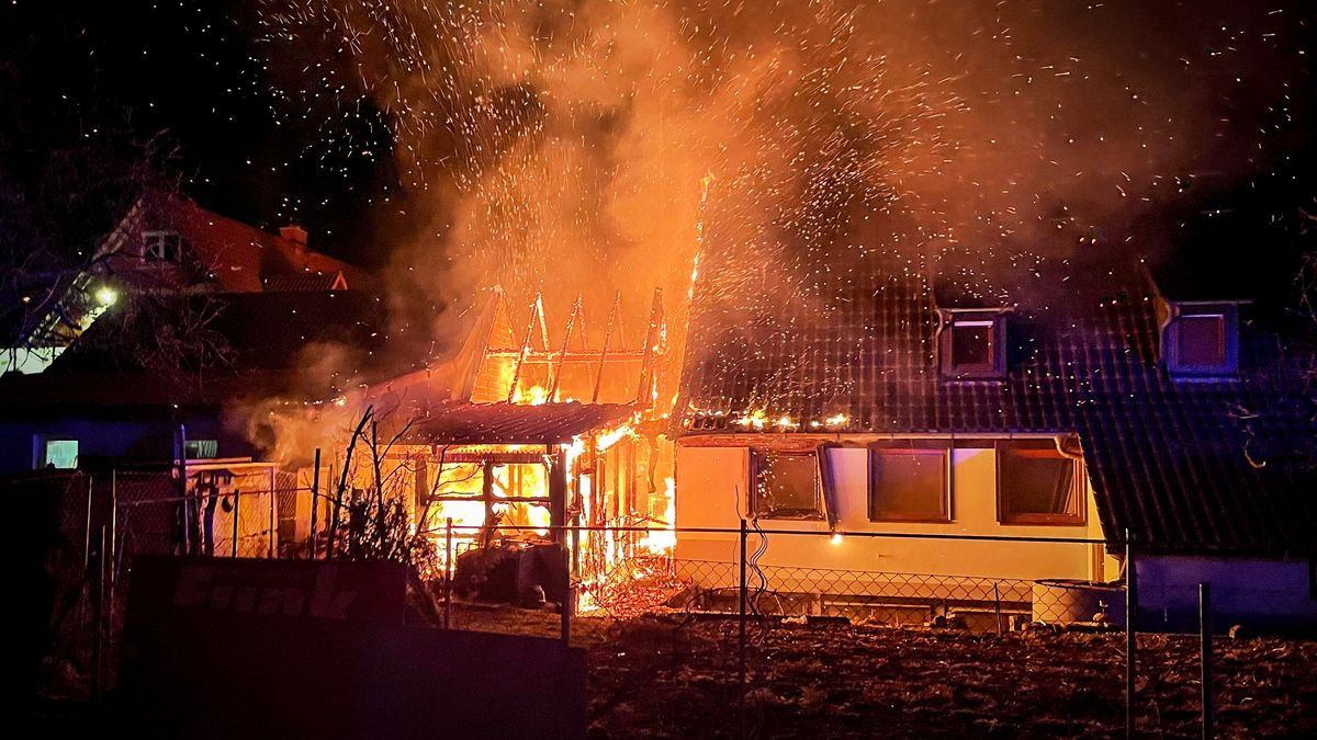 Feuer in Marktheidenfeld