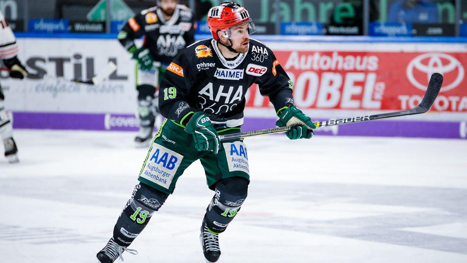 Eishockey: Augsburger Panther verlängern mit Drew LeBlanc