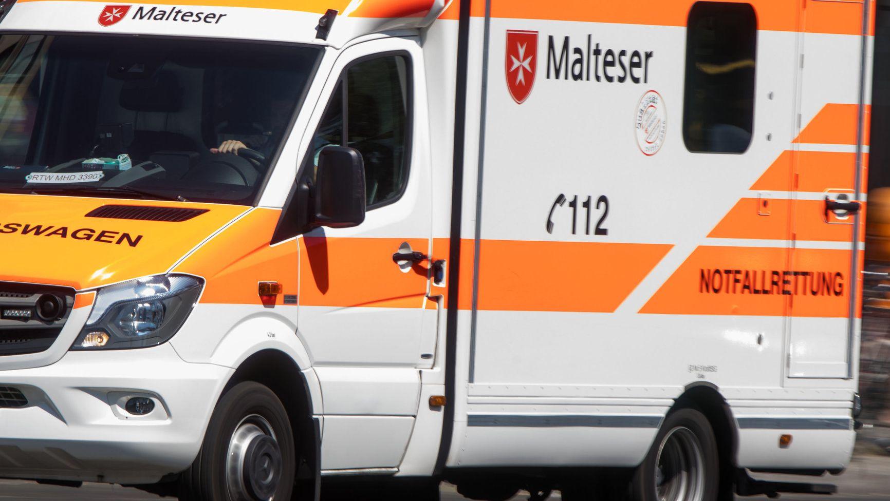 Archivbild: Rettungswagen