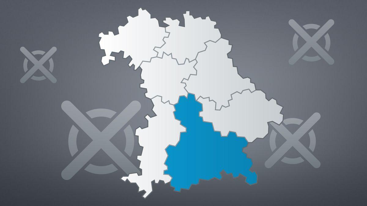 Oberbayern vor der Bundestgaswahl