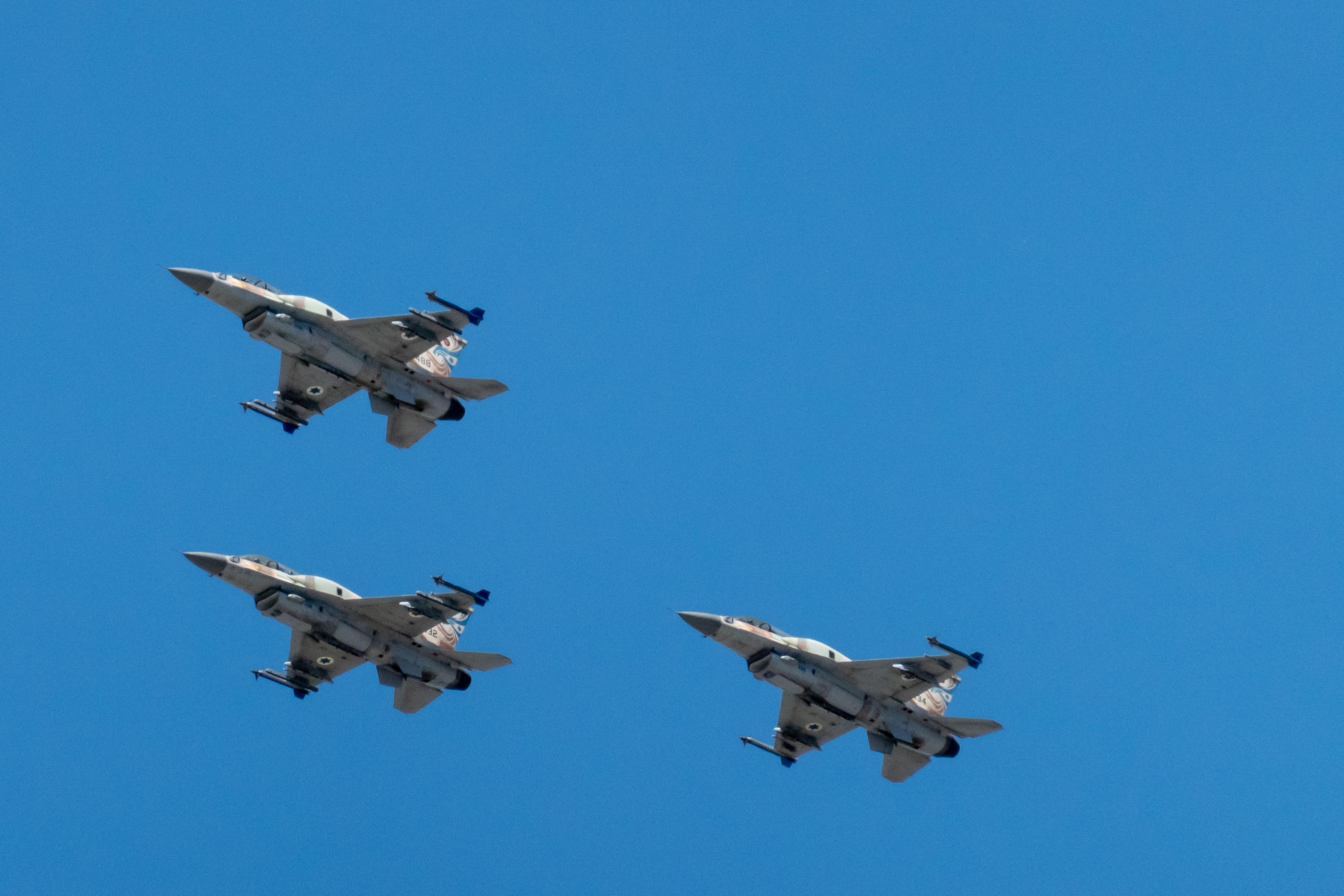 Israelische Kampfflugzeuge in Nörvenich eingetroffen
