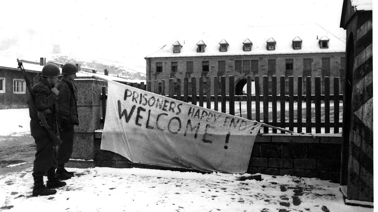 Befreiung des KZ Flossenbürg