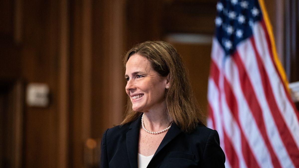 US-Verfassungrichterin Amy Coney Barrett.