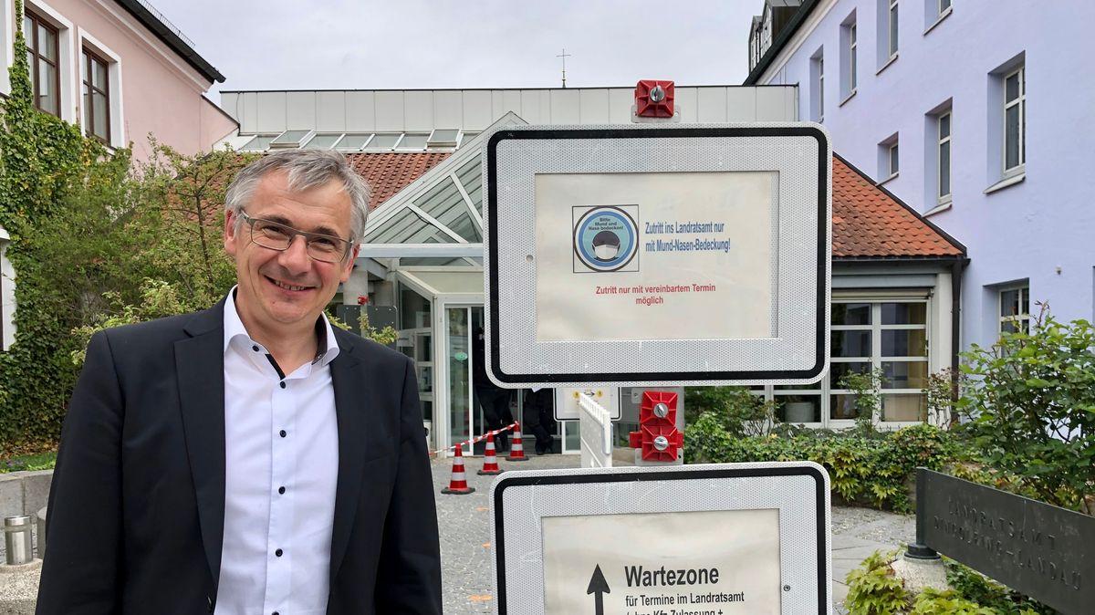 Werner Bumeder, der neue Landrat von Dingolfing-Landau
