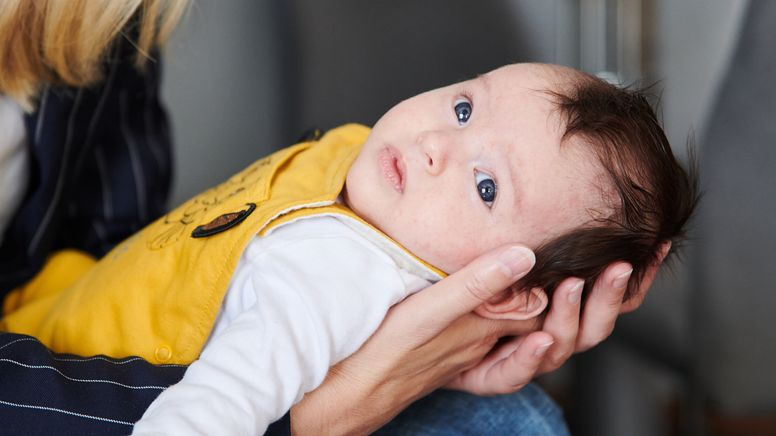 Werden bald auch Babys gegen Covid-19 geimpft? (Symbolbild) | Bild:dpa-Bildfunk/Annette Riedl