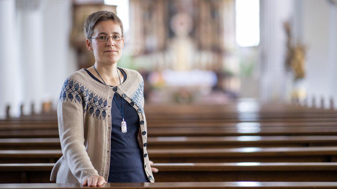 Ordensfrau Juliana Seelmann