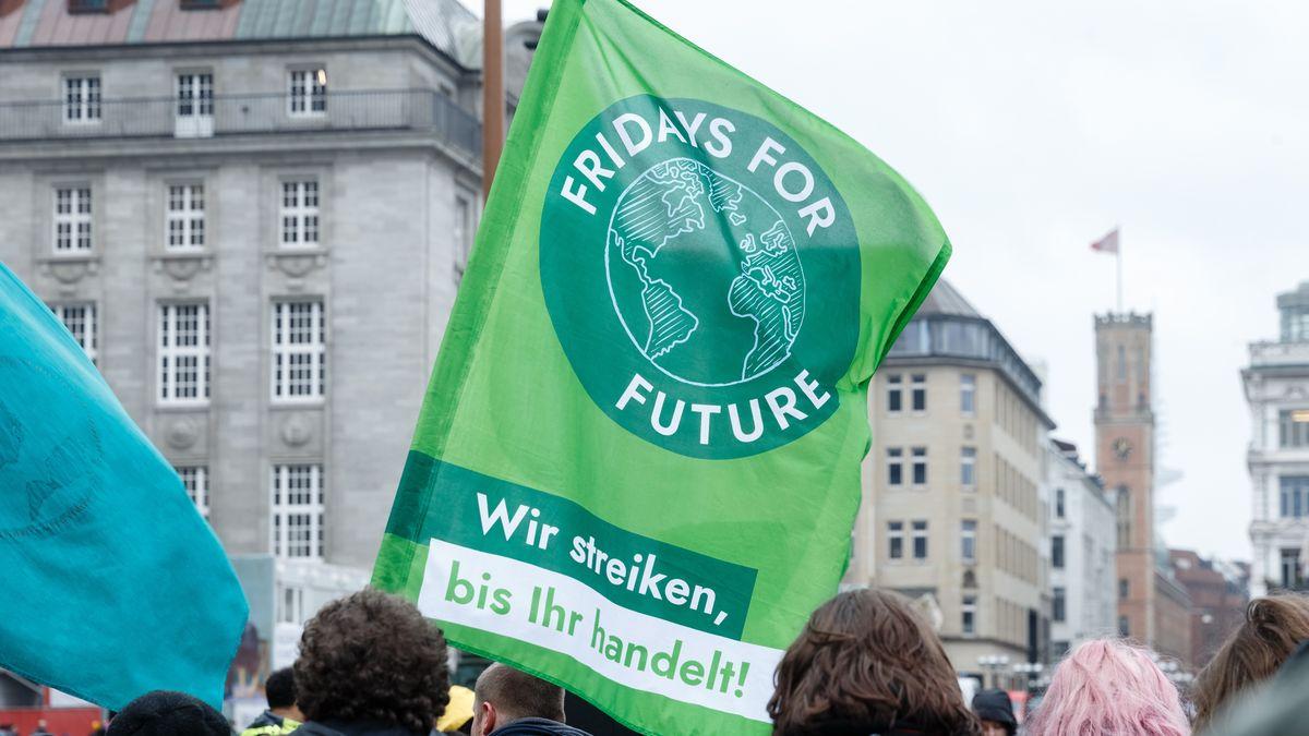 Schüler protestieren während einer Fridays for Future Demonstration