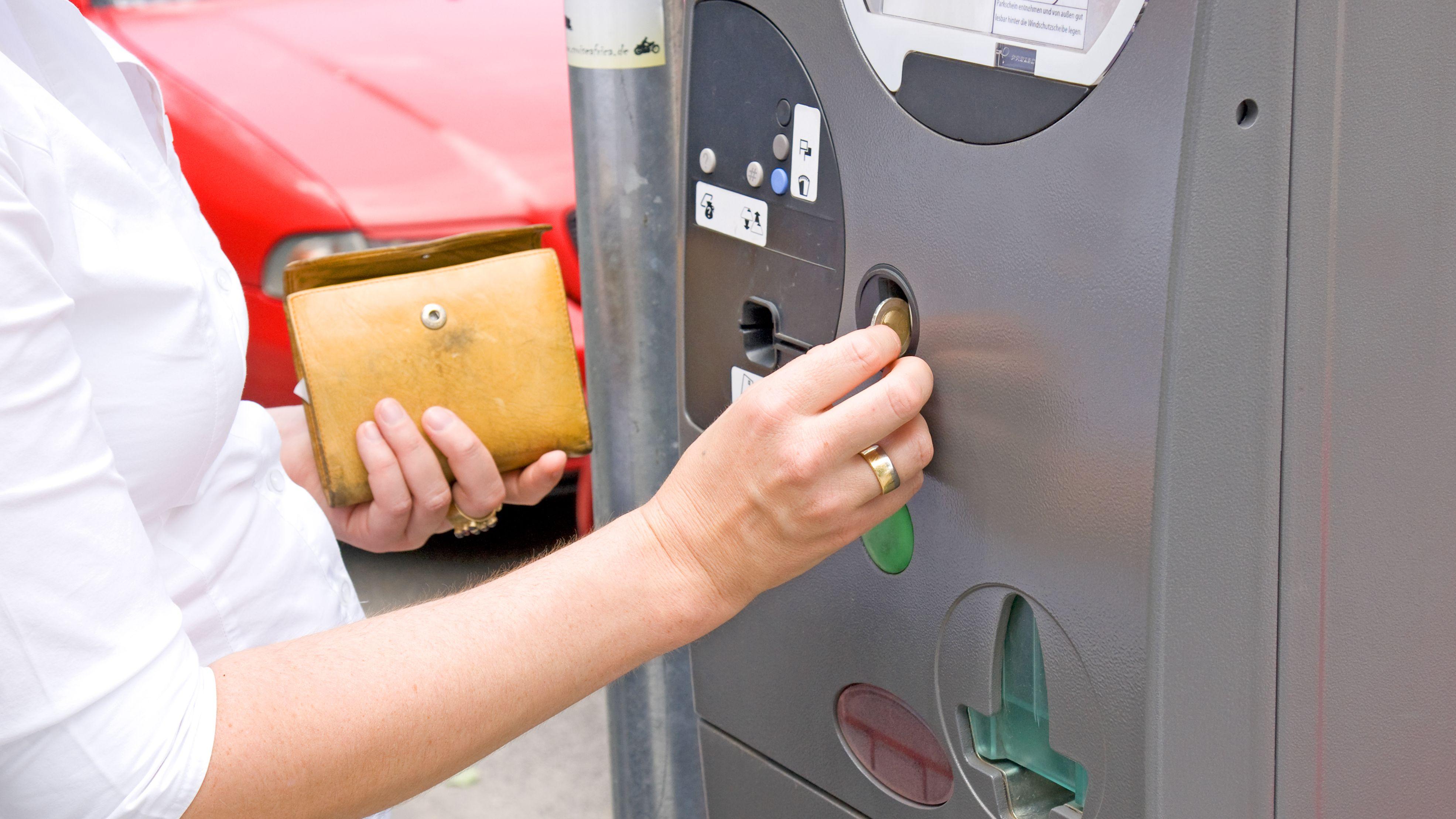 Symbolbild Parkscheinautomat