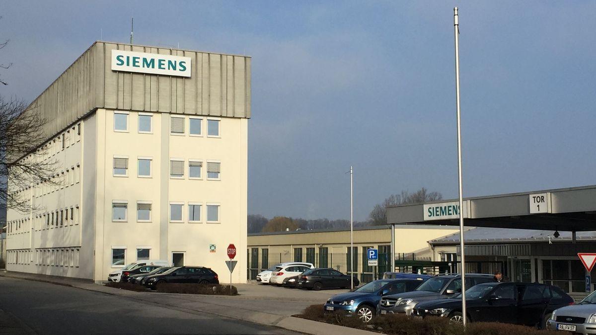 Siemens in Ruhstorf an der Rott im Landkreis Passau