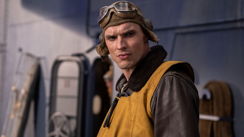 Midway-Hauptdarsteller Ed Skrein als Bomberpilot Dick Best