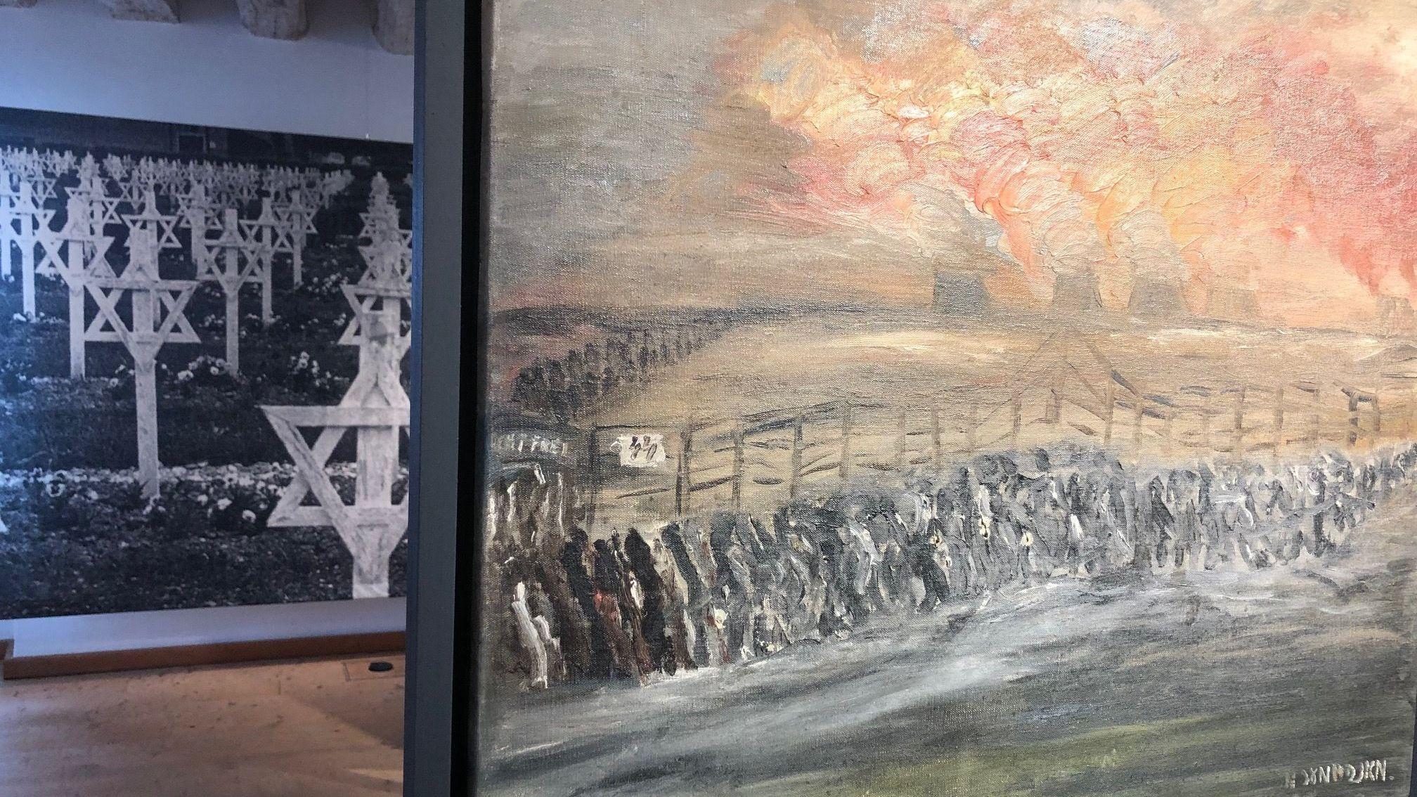 Exponat von Max Mannheimer-Ausstellung