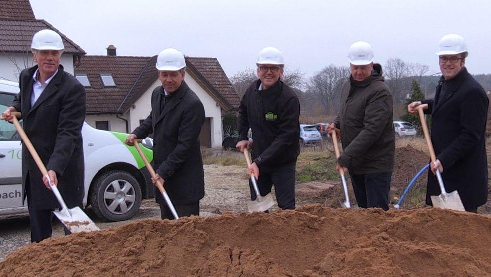 Spatenstich in Röttenbach bei Erlangen für mehr bezahlbaren Wohnraum