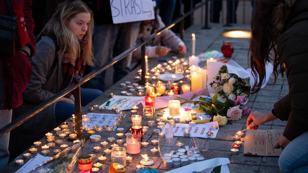 Anschlag in Straßburg: Trauer und Mitgefühl | Bild:BR