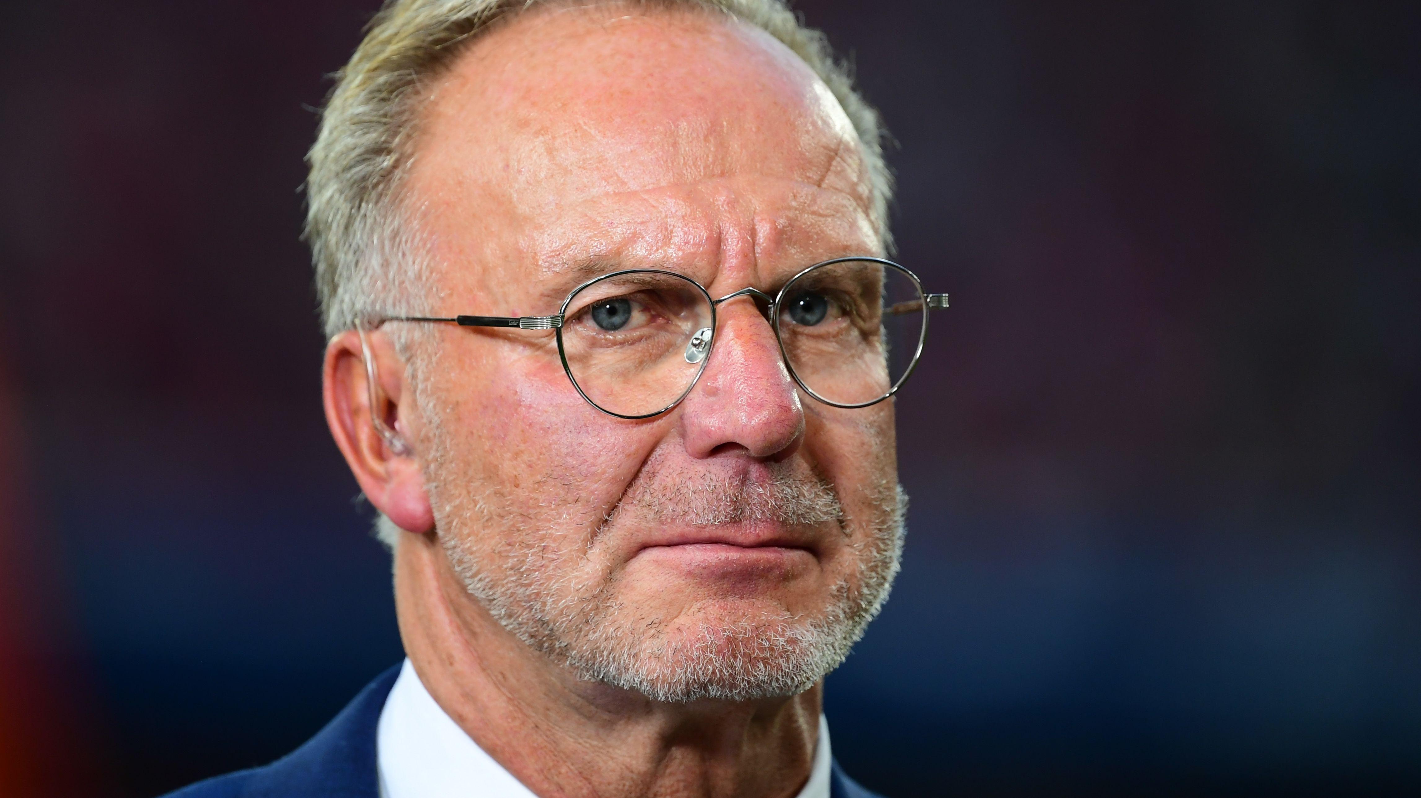 Fußball Audi Cup 2019 Bayern München - Fenerbahce Istanbul am 30.07.2019 in der Allianz Arena in München Karl-Heinz Rummenigge