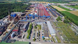 Luftaufnahme der Lech-Stahlwerke bei Herbertshofen | Bild:Lech-Stahlwerke GmbH