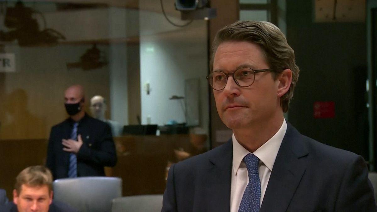 Scheuer kann im Untersuchungsausschuss nicht überzeugen