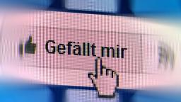 Facebooks Gefällt mir-Button | Bild:picture alliance/Geisler-Fotopress