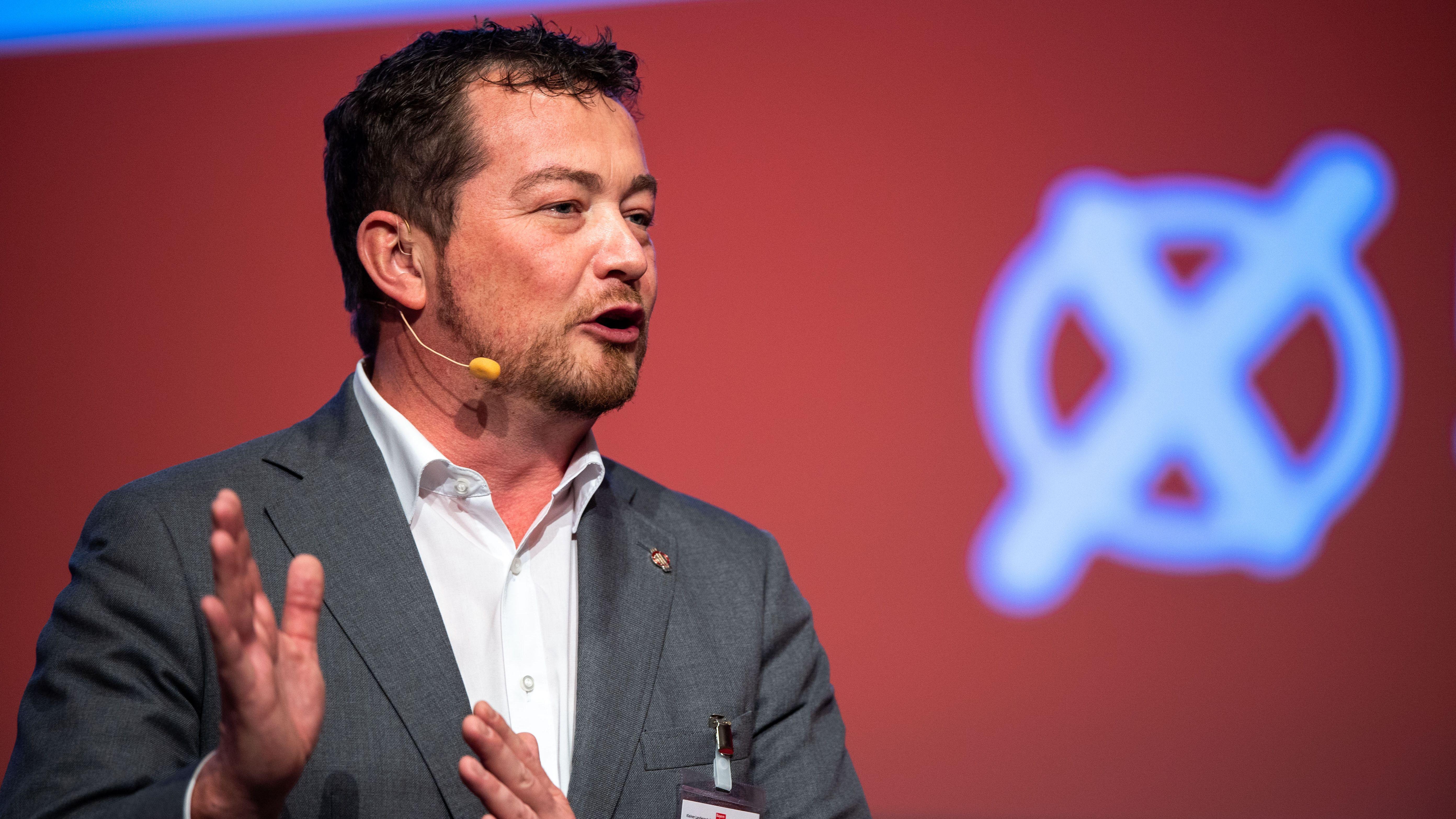 Uli Grötsch, Bundestagsabgeordneter aus Waidhaus und Generalsekretär der Bayern-SPD.