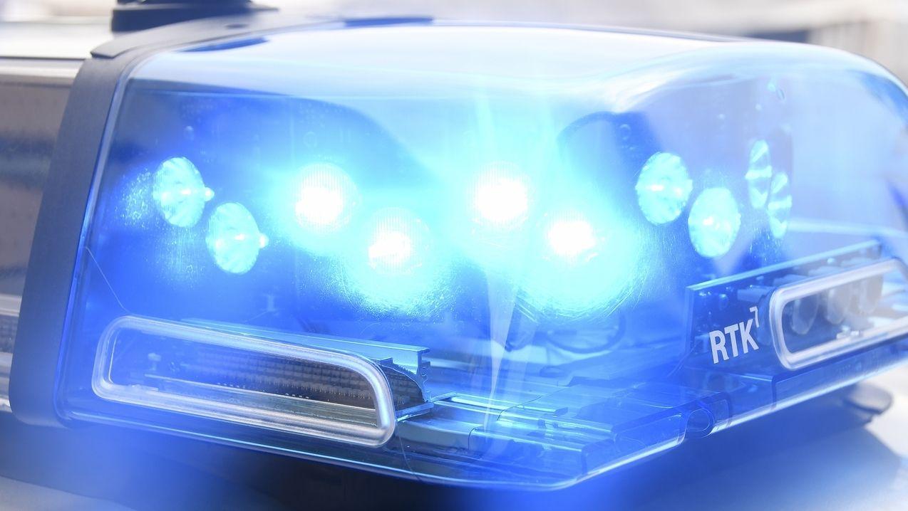 Blaulicht der Polizei.