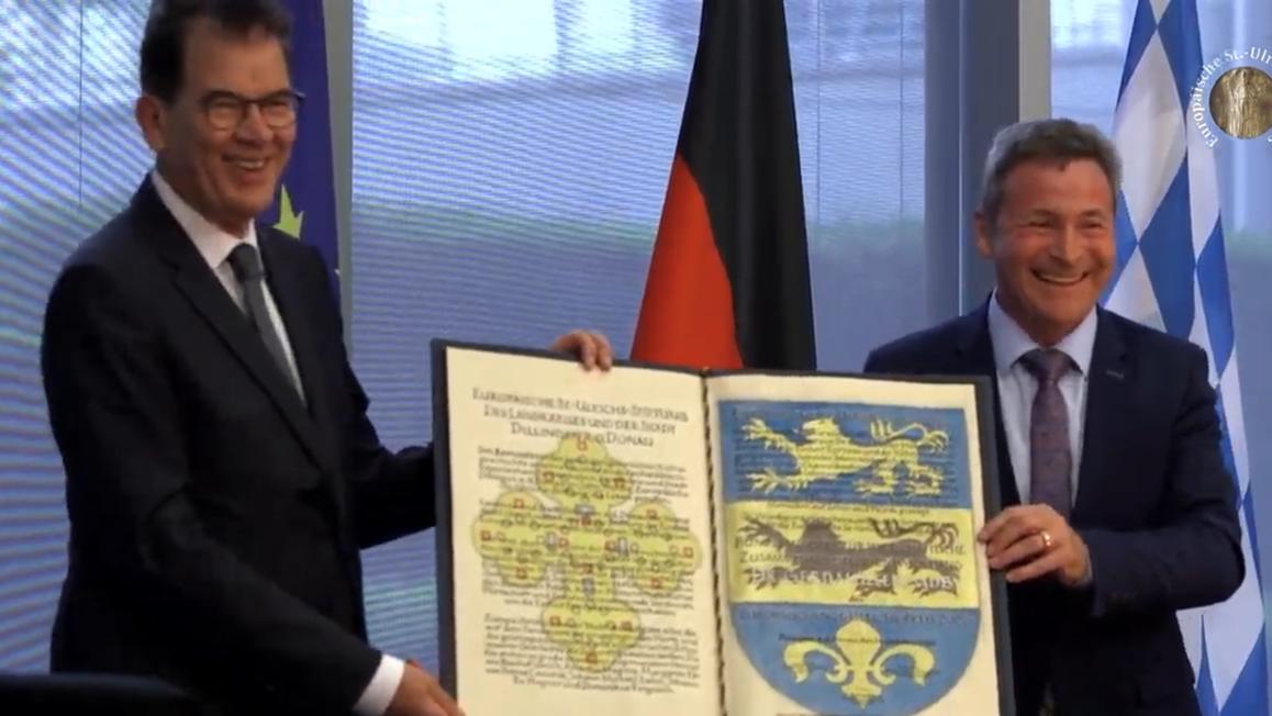 Ulrichspreis für Entwicklungsminister Müller