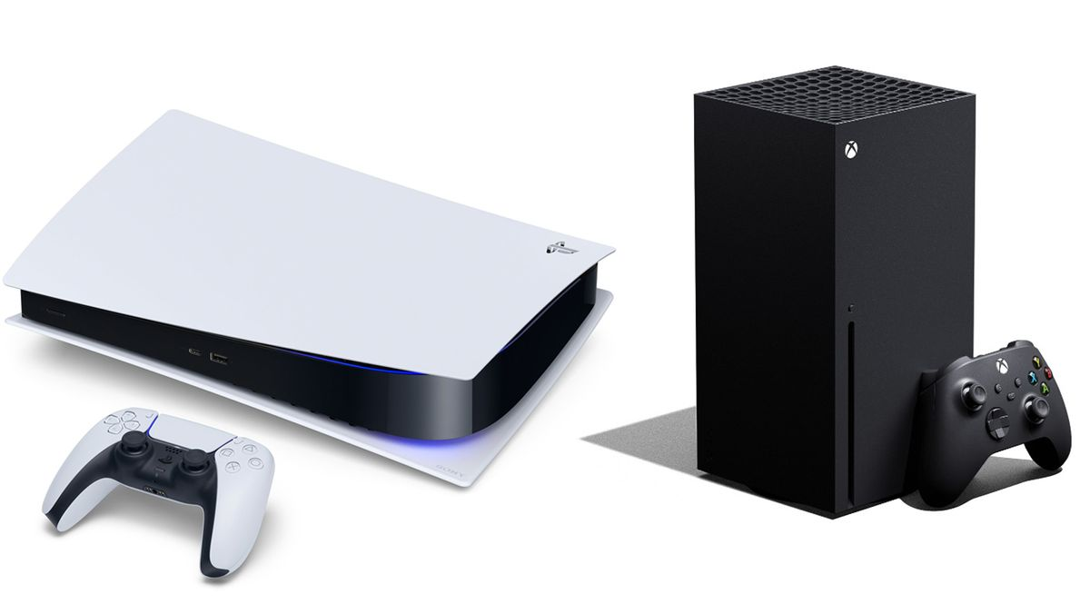 Die neue Konsolen-Generation: Playstation 5 von Sony (l) und Xbox Series X von Microsoft