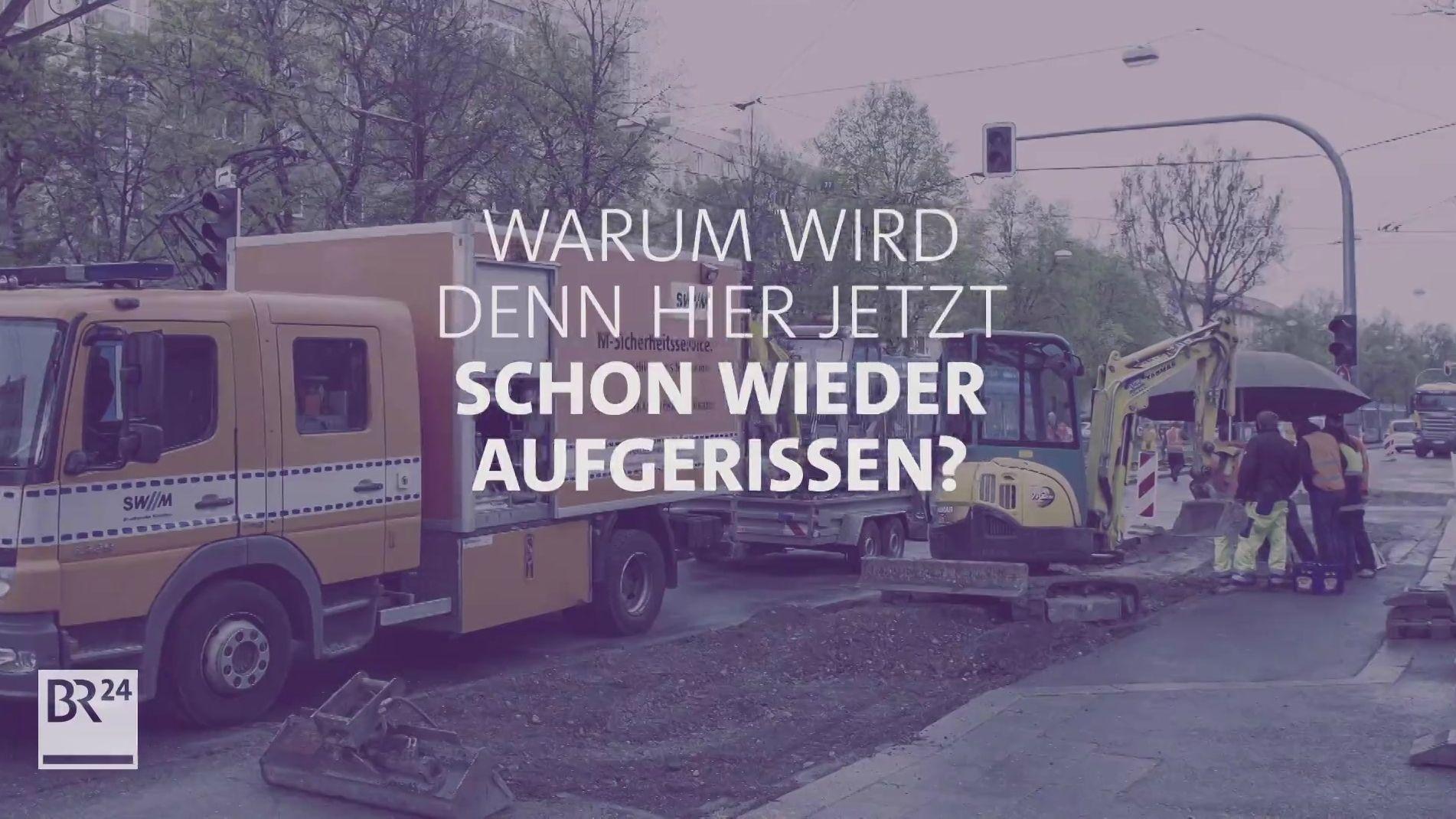 Straßenbaustellen: Warum wird hier schon wieder aufgerissen?