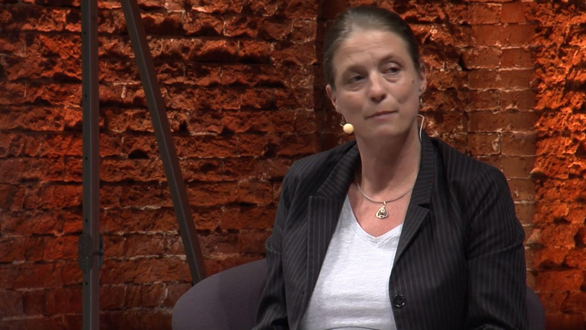 Jury-Vorsitzende Sandra Kegel