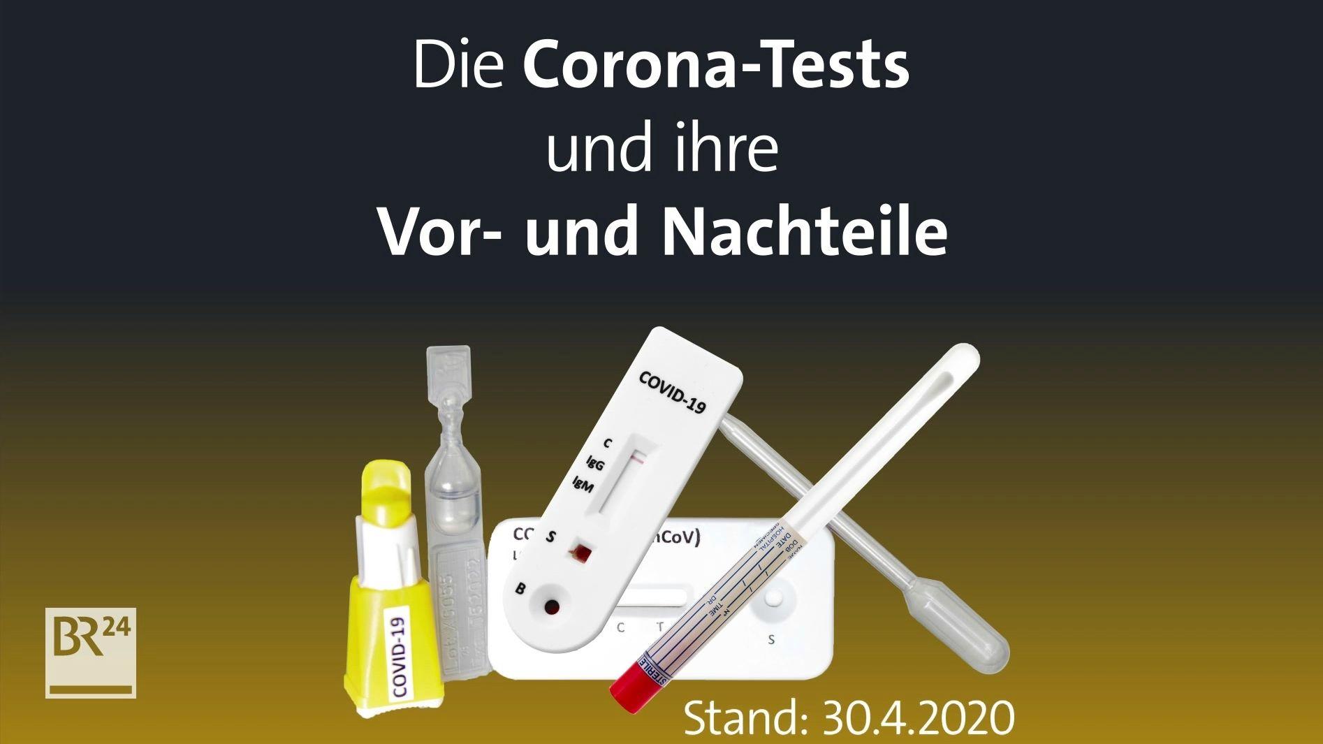 #fragBR24💡 Die Corona-Tests und ihre Vor- und Nachteile