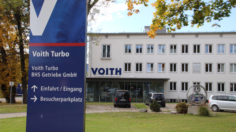 Voith Gebäude am Standort Sonhofen
