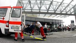 Uni-Klinik Würzburg: Zentrum für Innere Medizin (ZIM)   Bild:picture-alliance/dpa