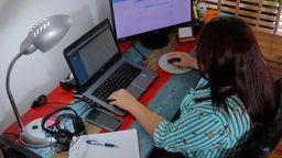 Arbeiten zu Hause | Bild:picture alliance