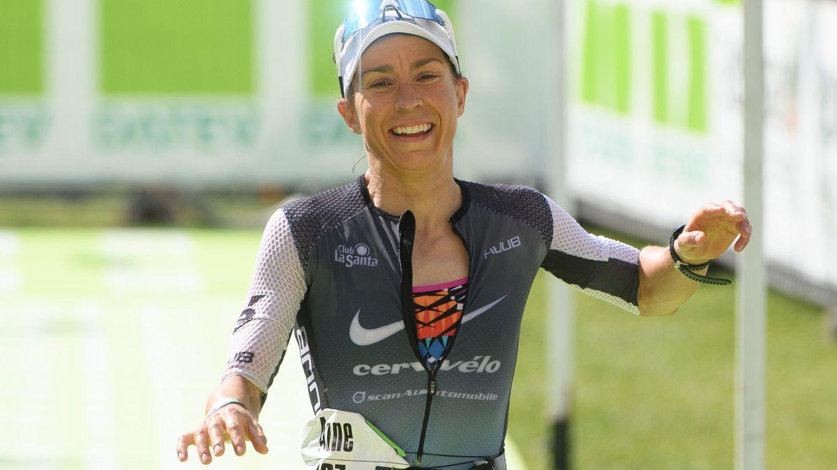 Die Bayreuther Ironman-Weltmeisterin Anne Haug