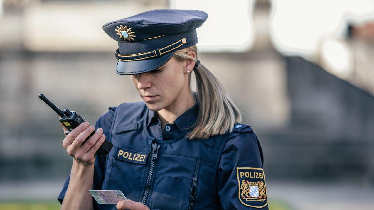 Nur knapp jeder dritte Polizist in Bayern ist weiblich