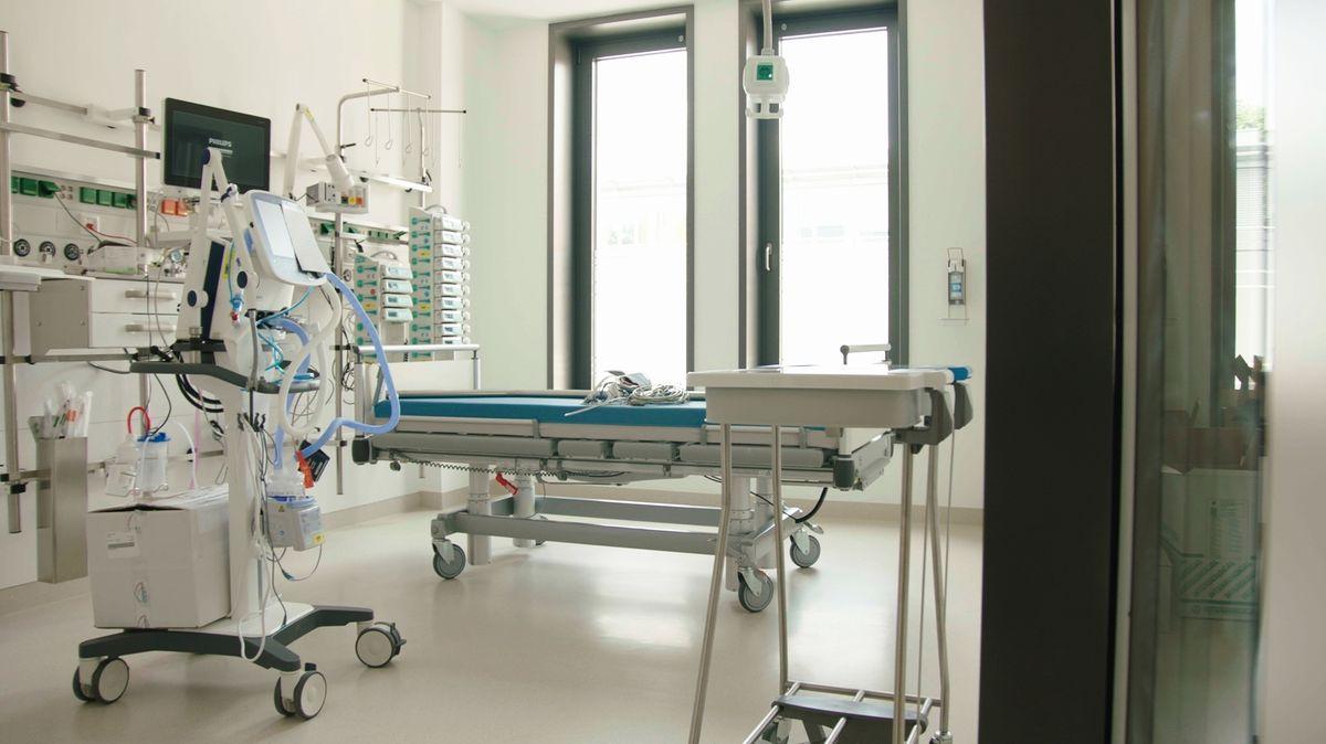 Neueste medizinische Ausstattung.