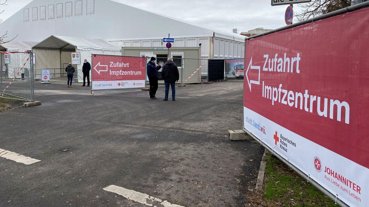 Impfzentrum in Würzburg