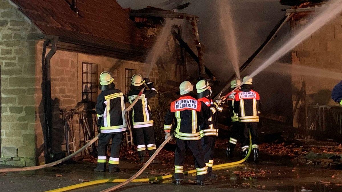 Kuhstall in Kaltensondheim abgebrannt